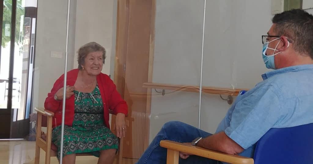 Residencia Santos Reyes - Noticias - Visitas Familiares